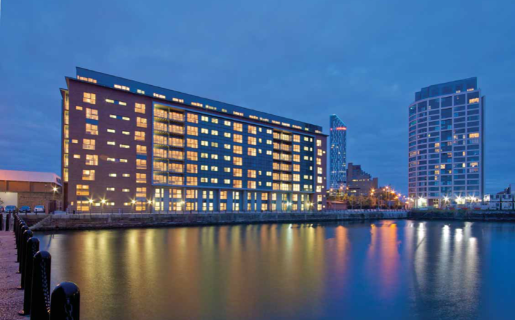 Waterside, Princes Dock, Liverpool